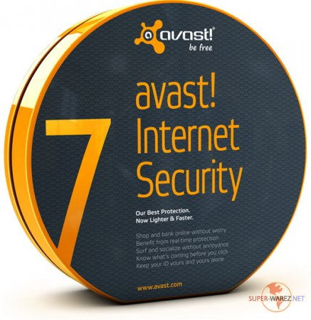 Avast! Internet Security v 7.0.1456 Final (Активация до 2050 года)