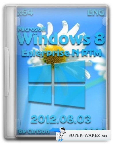 Microsoft Windows 8 Enterprise N RTM x64 (Bootable ISO) - CtrlSoft (ENG/2012)