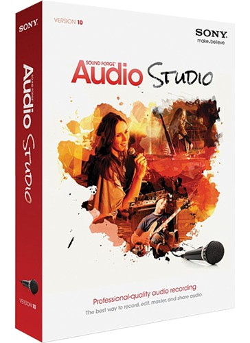 Sony Sound Forge Audio Studio 10.0 Build 178 ML RUS