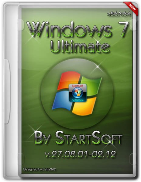 Windows 7 Ultimate SP1 StartSoft v.27.08.01-02.12 (x86/x64/RUS/2012)