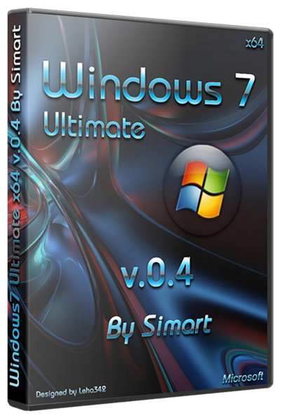Windows7 Ultimate x64 v.0.4 By Simart (RUS/2012)