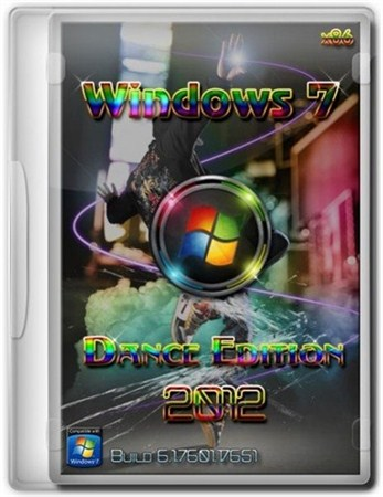 Windows 7 x86 Dance Edition Sp1 08.09.2012 (2012/RUS/ENG)