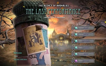 The Agency of Anomalies 3: The Last Performance Collector's Edition (2012/Eng)