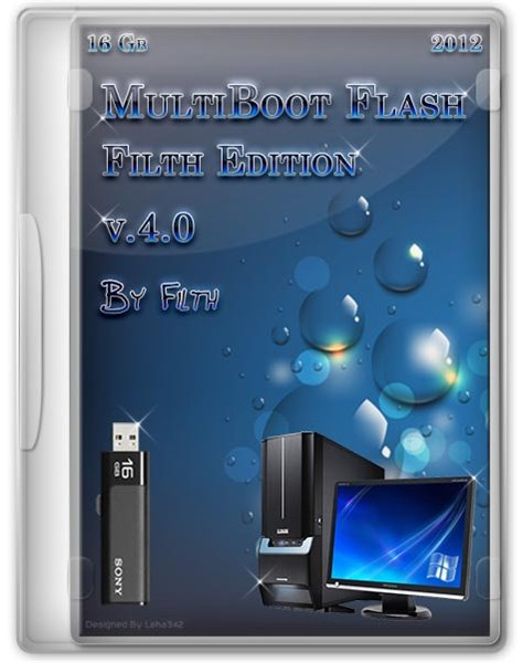 MultiBoot Flash Filth Edition v4.0 + Bonus (RUS/ENG/2012)