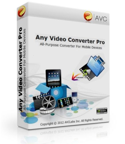 Any Video Converter Professional 3.5.3