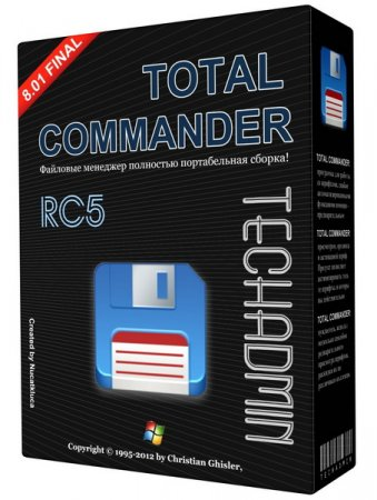 Total Commander v 8.01 Final TechAdmin (RC5) RUS