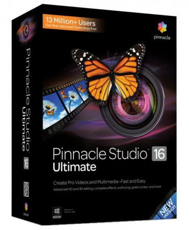 Pinnacle Studio 16 Ultimate v 16.0.0.75 + Content ML|Rus