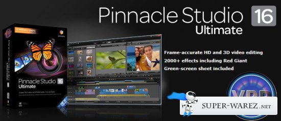 Pinnacle Studio 16 Ultimate VPP + Content VPP + Adorage VPP v.16.0.0.75 (2012 MULTi/RUS)