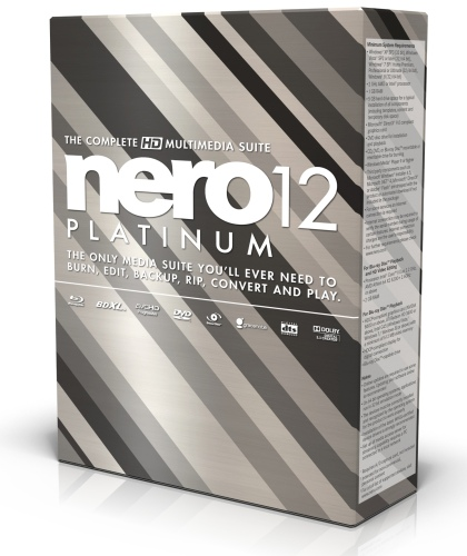 Nero 12 Platinum v 12.0.02000 Multilingual