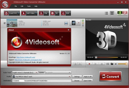 4Videosoft Video Converter Ultimate 5.1.10