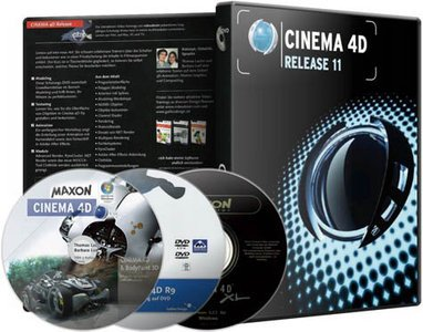 Cinema 4D Studio 11.514 complete [MacOSX/Windows]