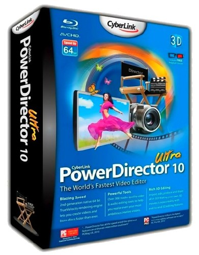 Cyberlink powerdirector ultra 10 0 0 2023 2012 pc