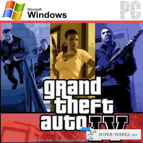 Grand Theft Auto 4: Maximum Graphics (v.1.0.7.0) (2012/ENG/RePack by Cyber 3D Club)