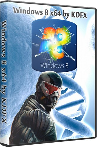 Windows 8 x64 by KDFX (RUS/2012)