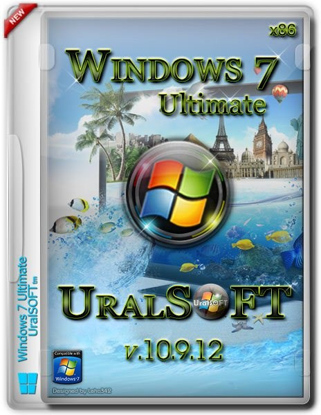 Windows 7 x86 Ultimate UralSOFT v.10.9.12 (2012/RUS)
