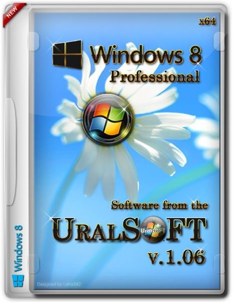 Windows 8 Professional UralSOFT v.1.06 (x64/2012)