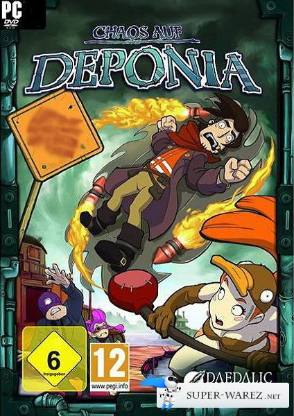 Chaos on Deponia (2012/ENG-SKIDROW)
