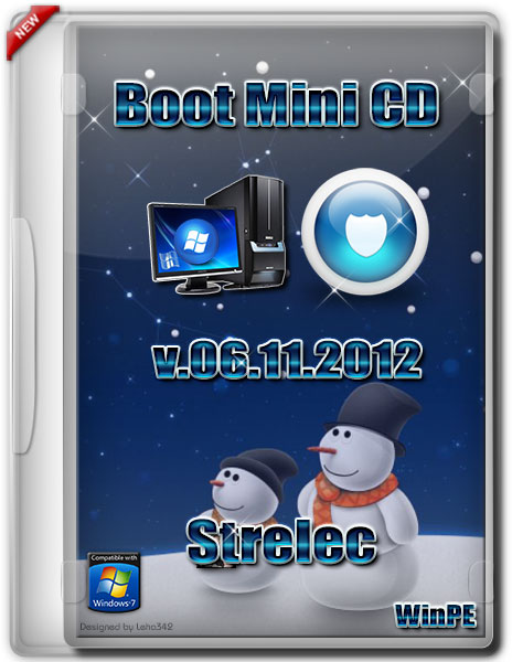 Boot Mini CD/USB Strelec (Acronis+Paragon) 06.11.2012 (х86/RUS)