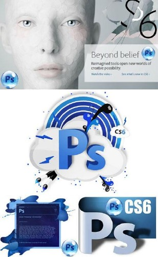 Adobe Photoshop CS6 13.0.1.1 Extended Lite RePack