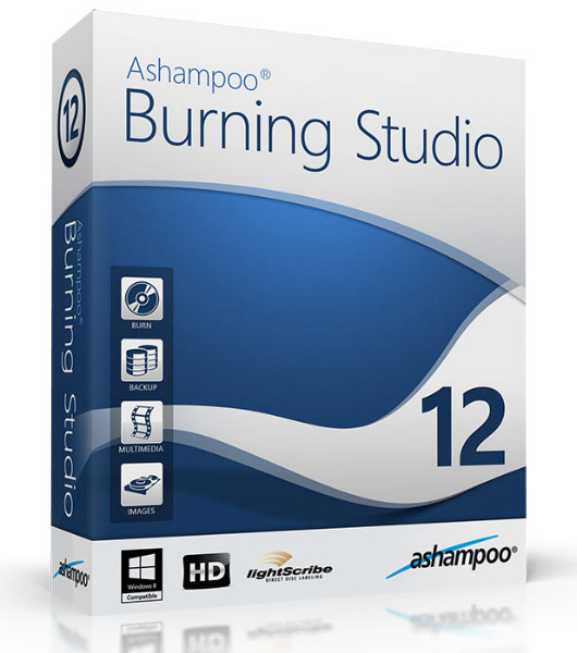 Ashampoo Burning Studio 12 v12.0.1.8 (3510) Final