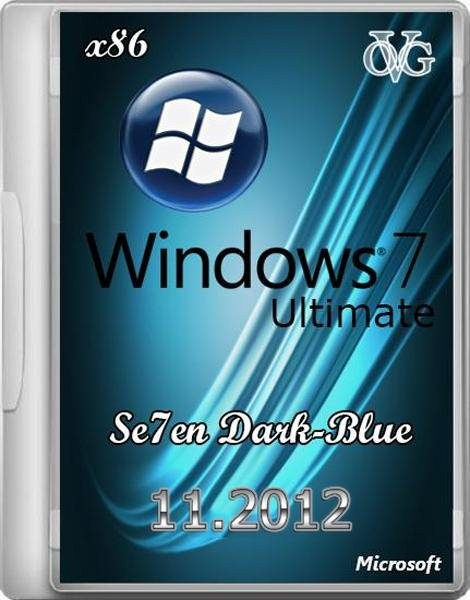 Windows 7 Ultimate x86 SP1 7DB by OVGorskiy® 11.2012 (x86/RUS)