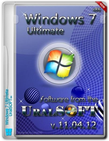 Windows 7 Ultimate UralSOFT & Office 2013 v.11.04.12 (x86/RUS)