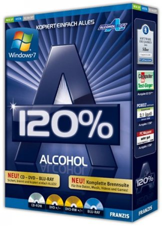 Alcohol 120% v 2.0.2.4713 Final RePack