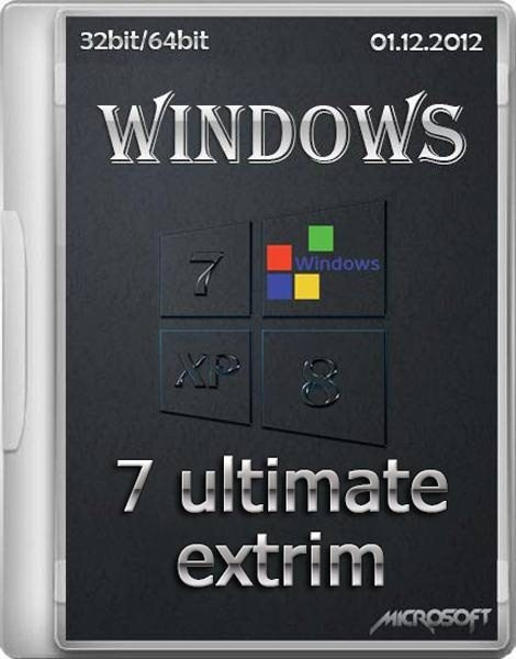 Windows 7 Ultimate SP1 Extrim v.01 x86/x64 (RUS/ENG)