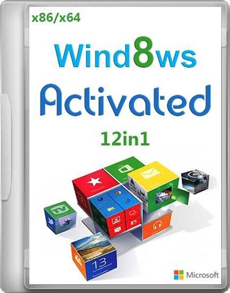 Windows 8 12in1 Activated by Bukmop (x86/x64/RUS/2012)