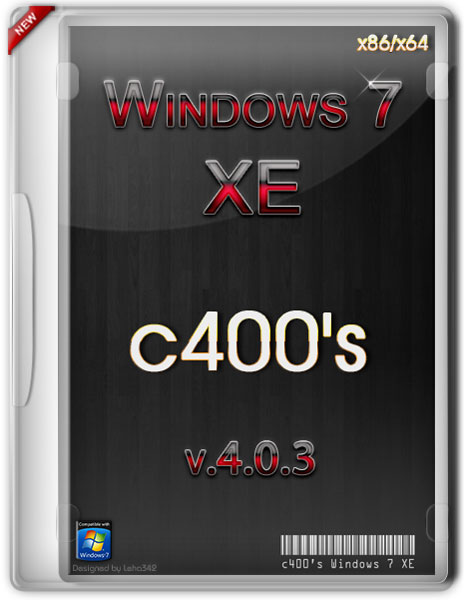 c400's Windows 7 XE 4.0.3 (x86/x64/RUS/ENG/2012)