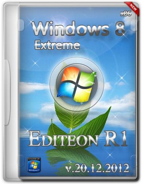 Windows 8™ Extreme Edition® R1 - 32bit Edition (RUS/ENG)