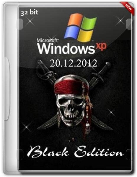 Windows XP Professional SP3 Black Edition  2012.12.20 (х86/ENG/RUS)