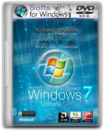Windows 7 Ultimate SP1 Updated 20.12.2012 Beslam™ Edition 2DVD v.8 (x86/x64)