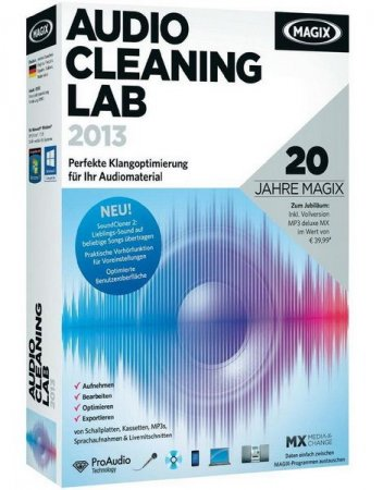 MAGIX Audio Cleaning Lab 2013 v 19.0.0.10 Final