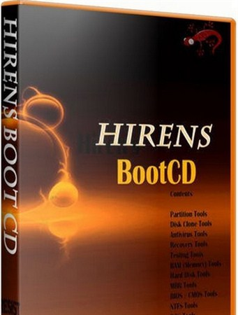 Hiren's Boot DVD 15.2 Restored Edition 1.0 (January 2013)