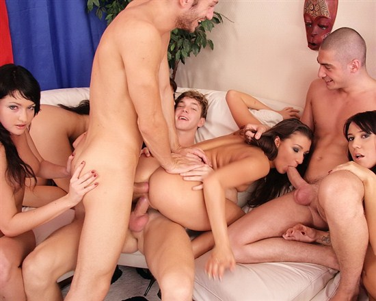 Group anal party