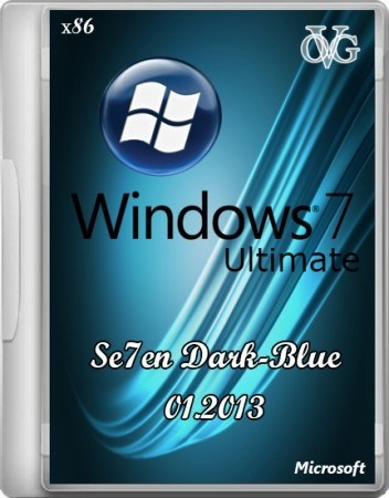 Windows 7 Ultimate SP1 Ru 7DB by OVGorskiy 01.2013 (X86/RUS/2013)