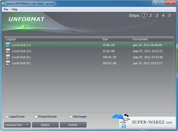 Active Unformat 2.5.3.21 Portable. Applications.