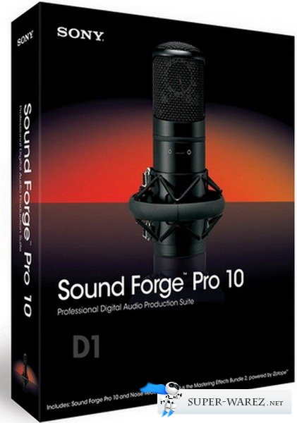 SONY Sound Forge Pro 10.0 Build 507 RePack