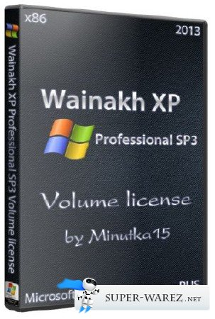 Wainakh XP Professional SP3 Volume license (x86//RUS/2013) by Minutka15