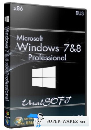 Windows 7 & 8 x86 Professional UralSOFT v.1.01 (RUS/2013)