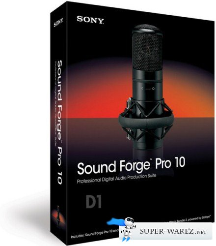 Sony Sound Forge Pro v10.0.507 Rus x86 Portable by goodcow