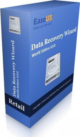 EASEUS Data Recovery Wizard WinPE Edition v 5.8.0 Retail