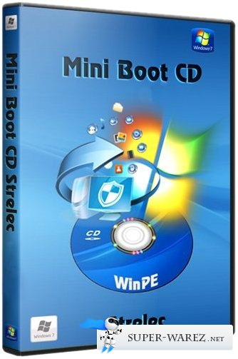 Boot CD USB Sergei Strelec 2013 v.1.6 [EngRus]