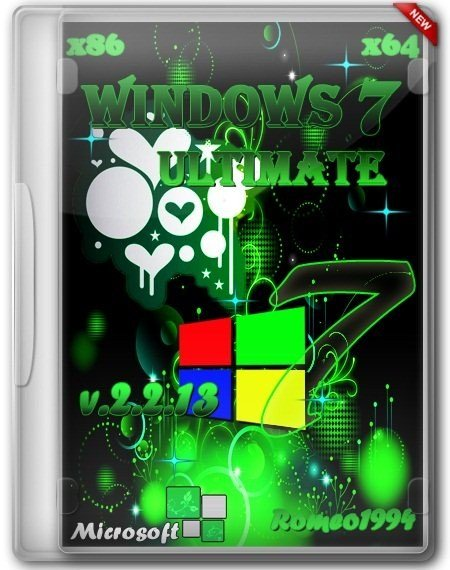 Windows 7 x64/x86 Ultimate by Romeo1994 v.2.2.13 (2013/RUS)