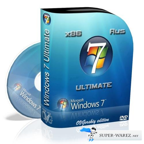 Microsoft Windows® 7™ Ultimate Ru x86 SP1 NL2 by OVGorskiy® 02.2013