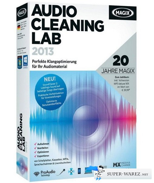 MAGIX Audio Cleaning Lab 2013 19.0.1.12 + Rus