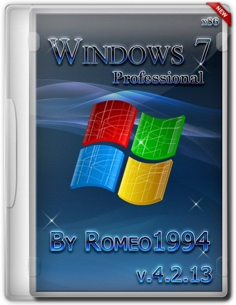 Windows 7 Professional by Romeo1994 v.4.2.13 (x86/2013/RUS)
