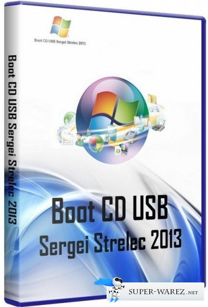 Boot USB Sergei Strelec v.1.8 Full (RUS/ENG/2013)