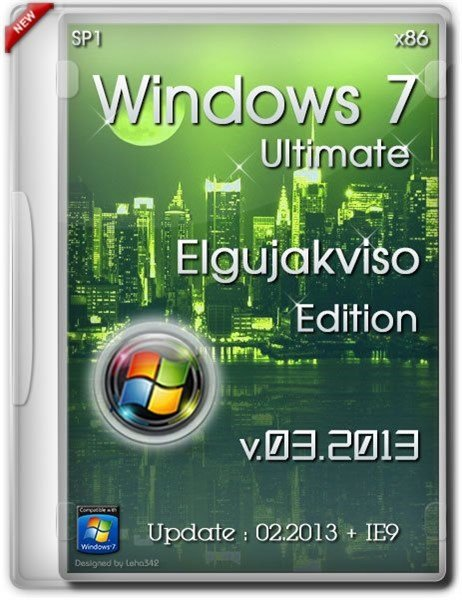 Windows 7 Ultimate SP1 Elgujakviso Edition 03.2013 (RUS/x86)